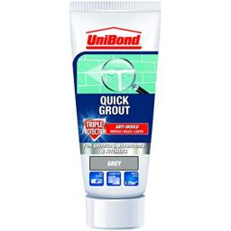 Unibond Quick Grout Triple Protect Anti Mould 300g - Grey