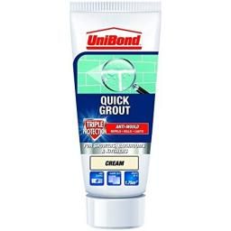 Unibond Quick Grout Triple Protect Anti Mould 300g - Cream