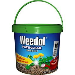 Weedol Pathclear Weedkiller Tubes Tub (Pack of 18)