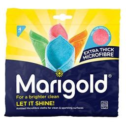 Marigold Let It Shine Microfibre Cloths (Pack of 4)