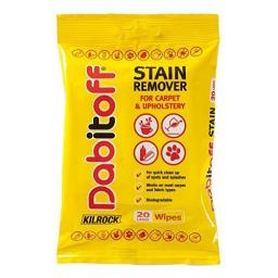 Kilrock dab it off Stain Remover Large Wipes (Pack of 20)