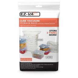 Ez-Vac Extra Large Cube Vacuum Storage Bags (Pack of 2)