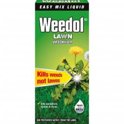 Weedol Lawn Weedkiller Liquid Concentrate Bottle - 1 Litre