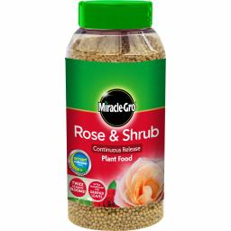 Scotts Miracle-Gro Continuous Release Plant Food Shaker Jar 1kg - Rose & Shrub