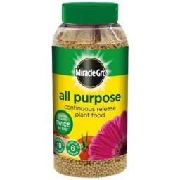 Scotts Miracle-Gro Continuous Release Plant Food Shaker Jar 1kg - All Purpose